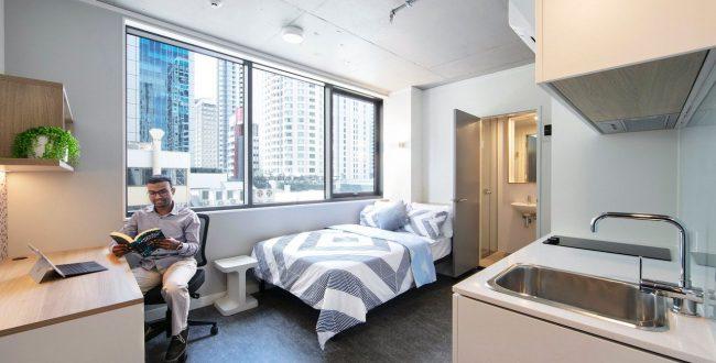 昆士兰大学和朋友合租,真的不来了解下市中心有哪些房屋出租吗?