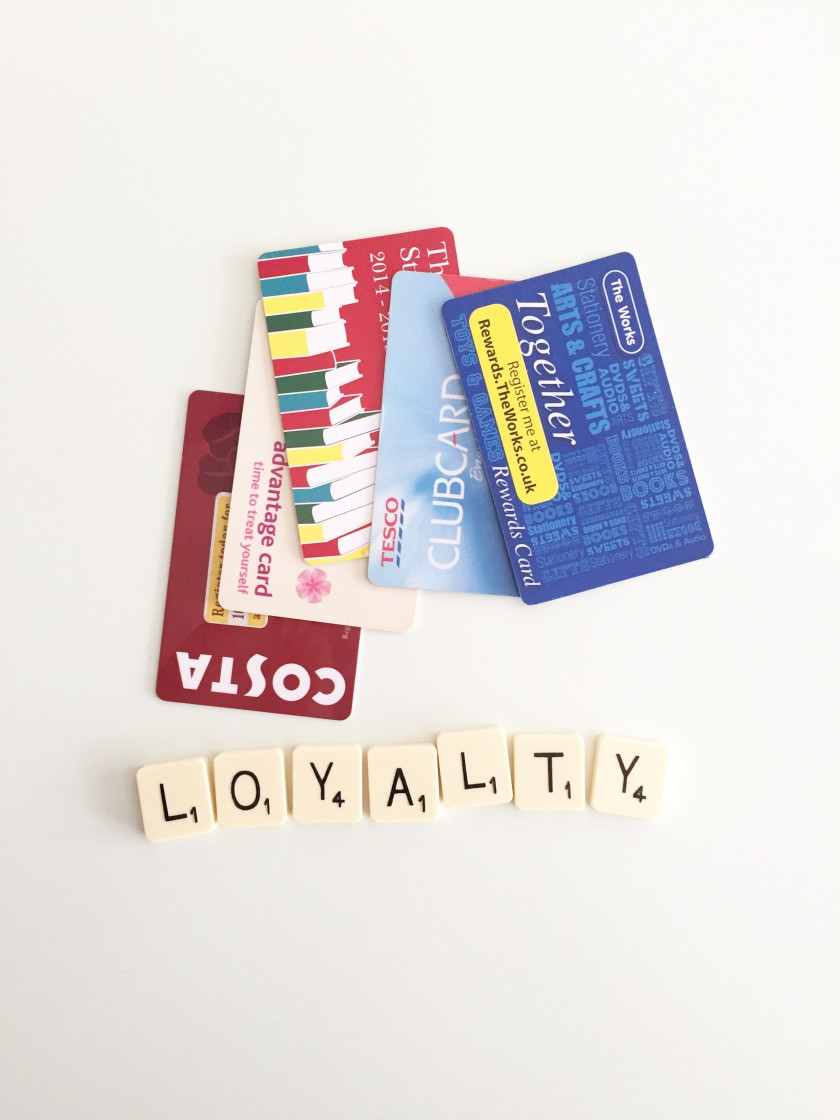 eating out on a budget: loyalty cards
