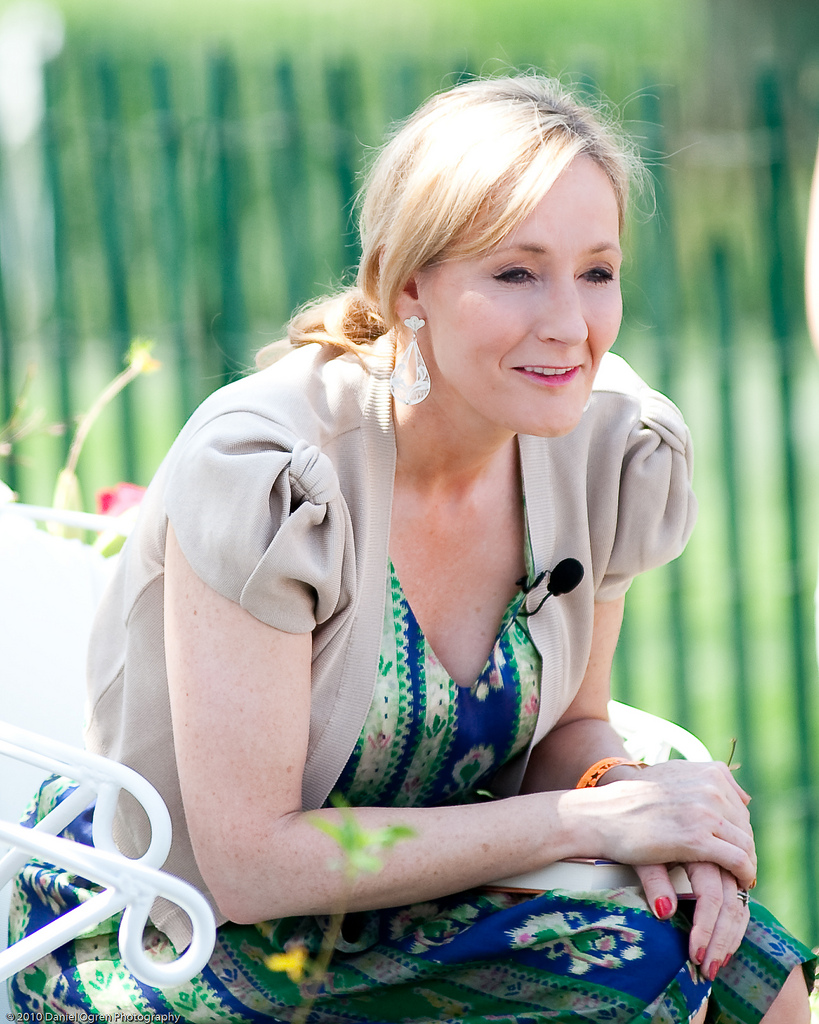 Celebrities International Students_JK_Rowling