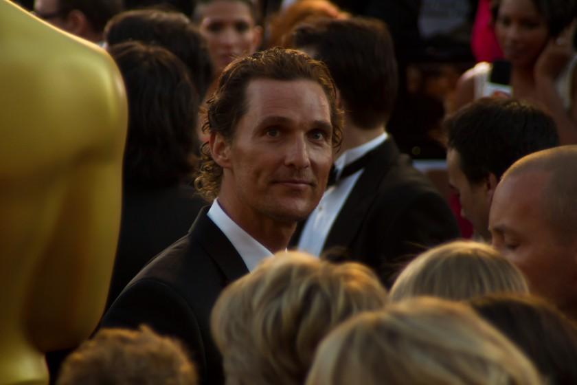 Celebrities International Students-Matthew McConaughey