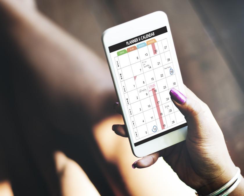 student life hacks 2016: phone timetable