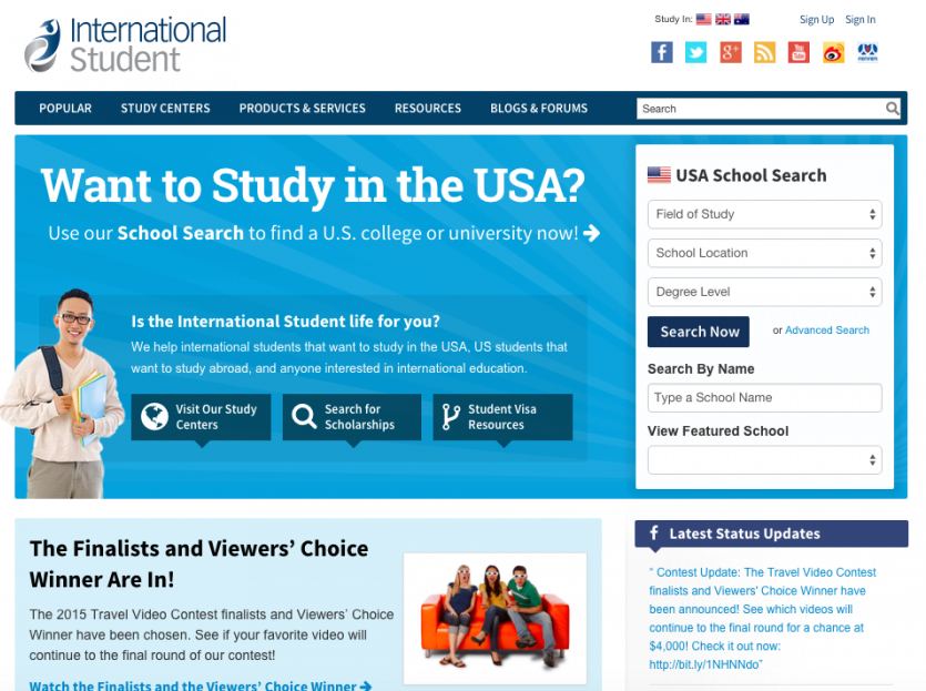 Best Websites To Study In The US | Student com Blog