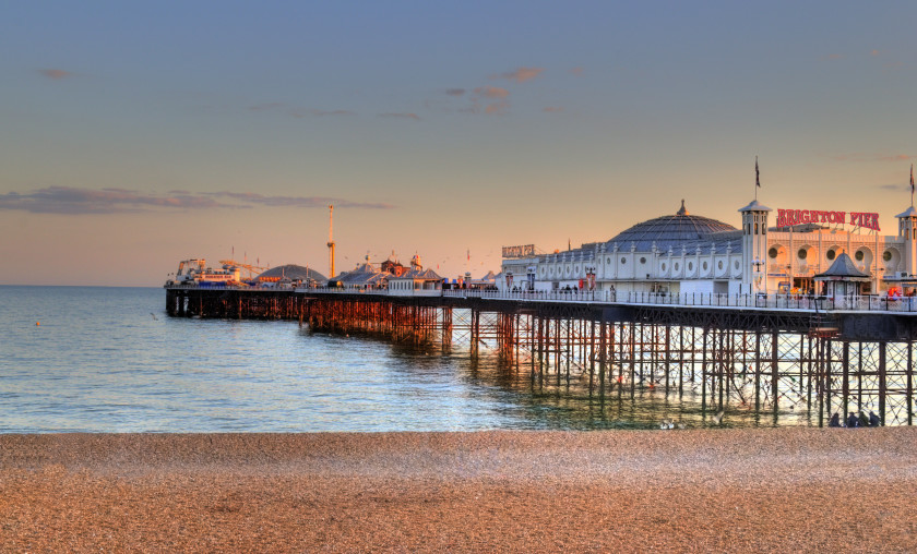 Best Places to Study Abroad beaches: brighton