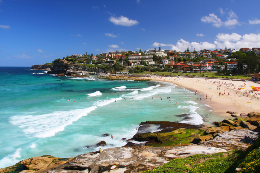 Best Places to Study Abroad beaches: sydney