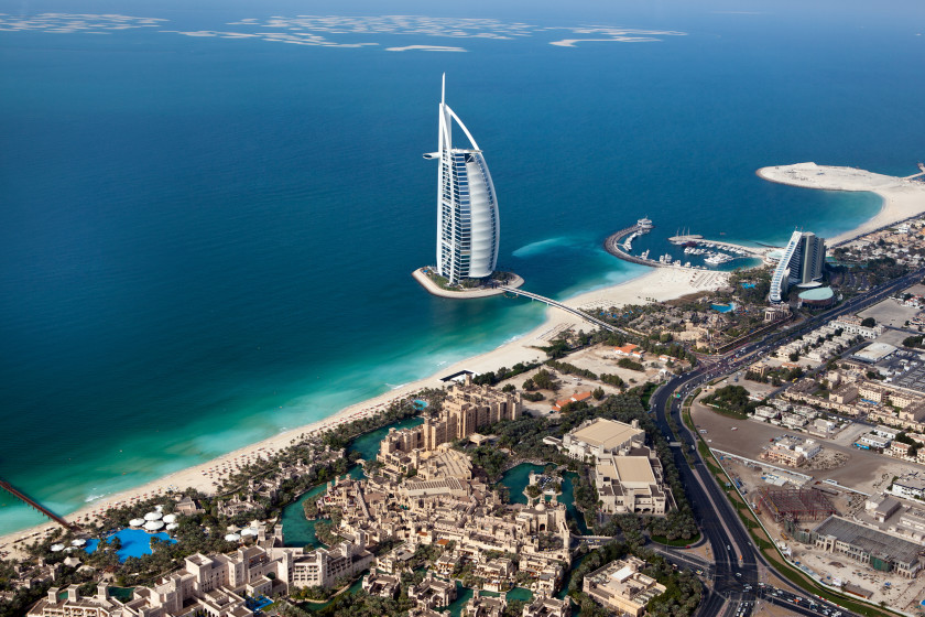 Best Places to Study Abroad beaches: dubai