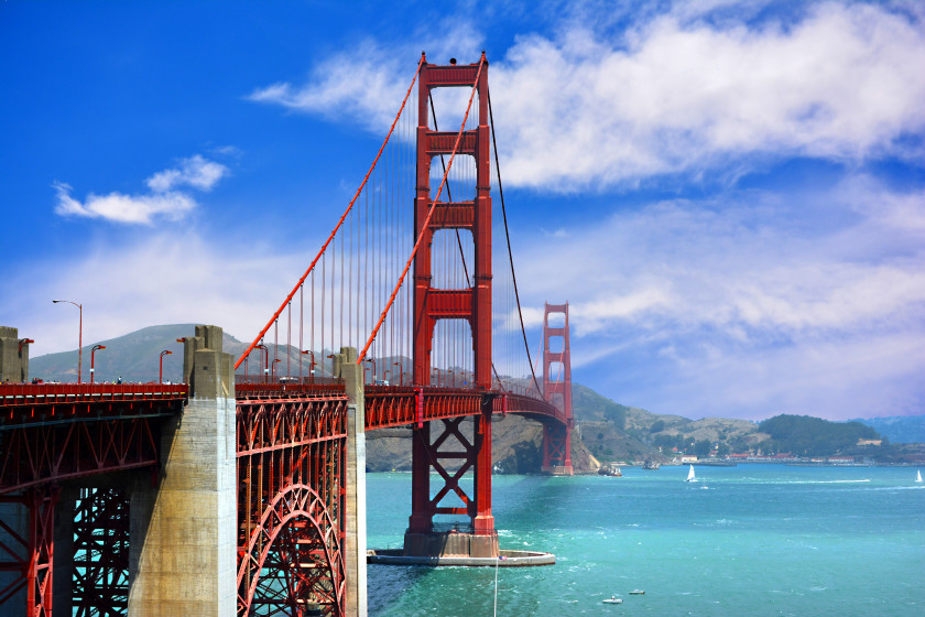 Best Places to Study Abroad beaches: san francisco