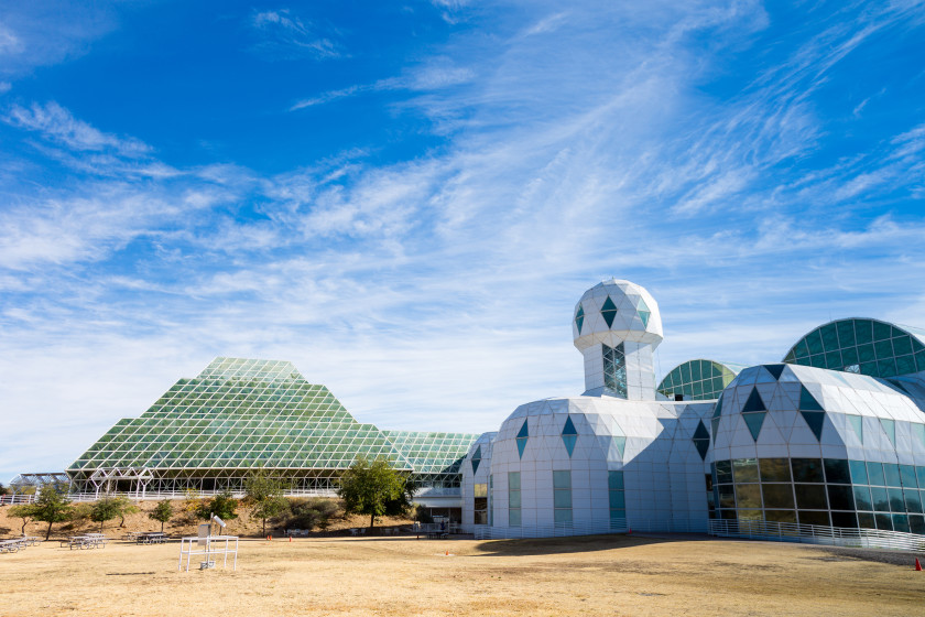 study in the US: Biosphere 2