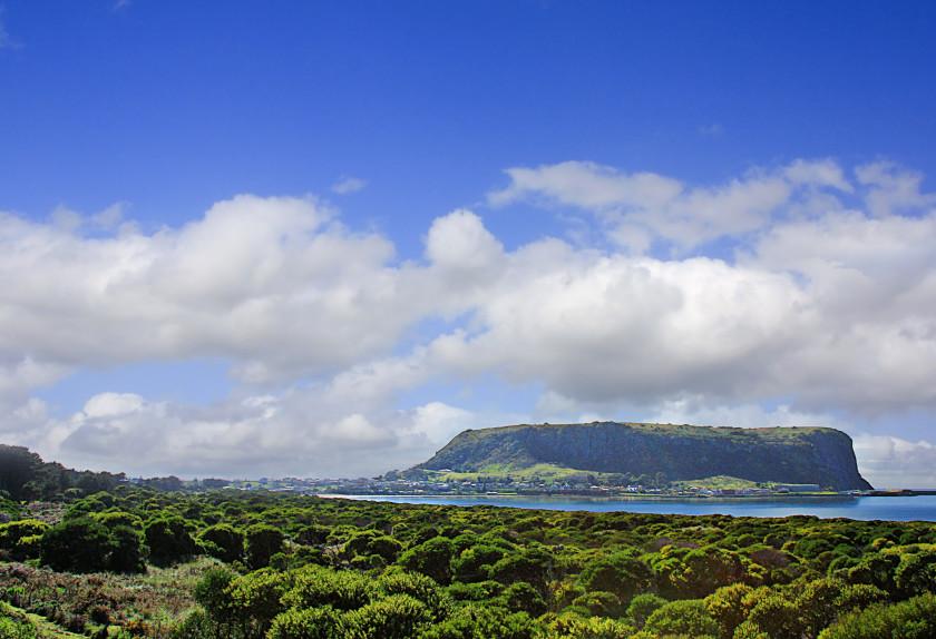 study in australia: stanley volcano