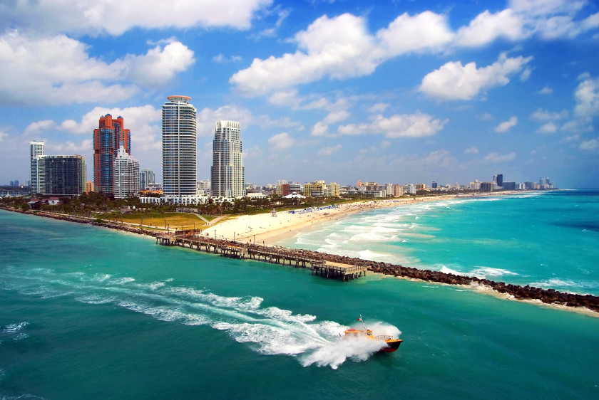 Best Places to Study Abroad beaches: miami