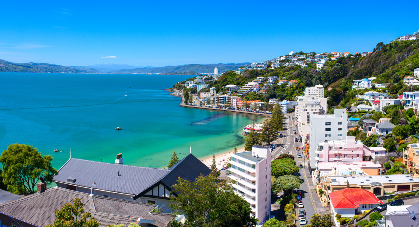 Best Places to Study Abroad beaches: wellington