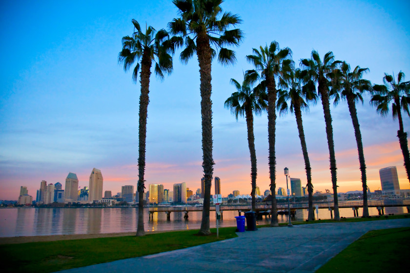 Best Places to Study Abroad beaches: san diego