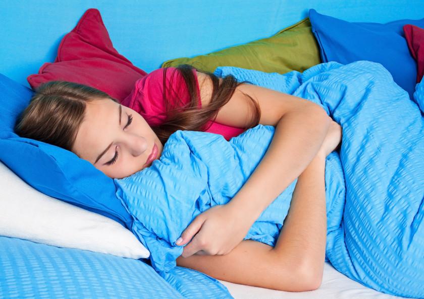 2015 student news: sleeping in