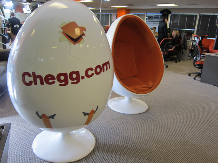 chegg businesses started by students