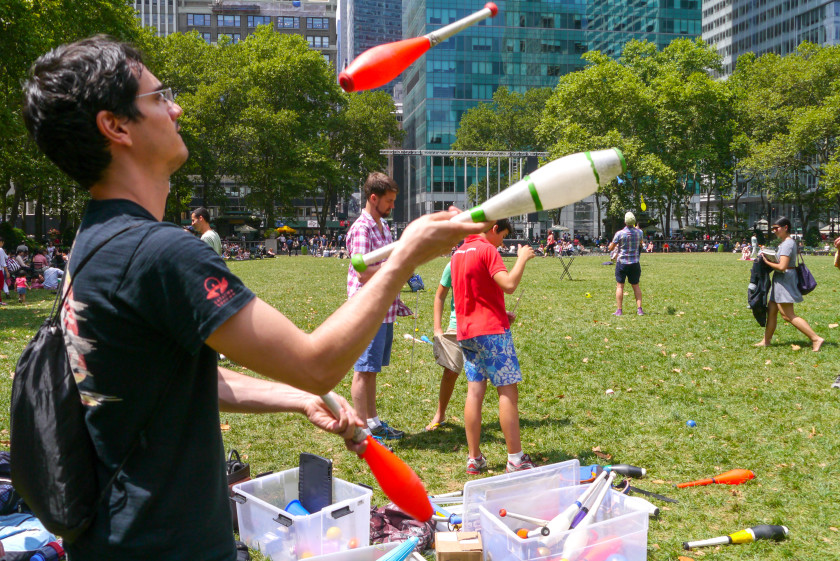 weirdest student societies: juggling gravity vomit