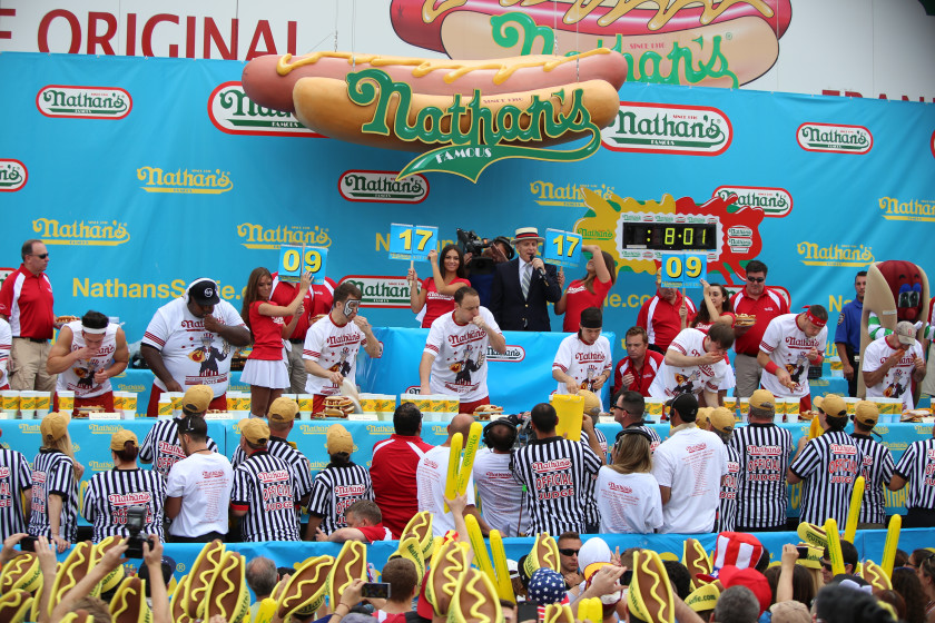 weirdest student societies: competitive eating