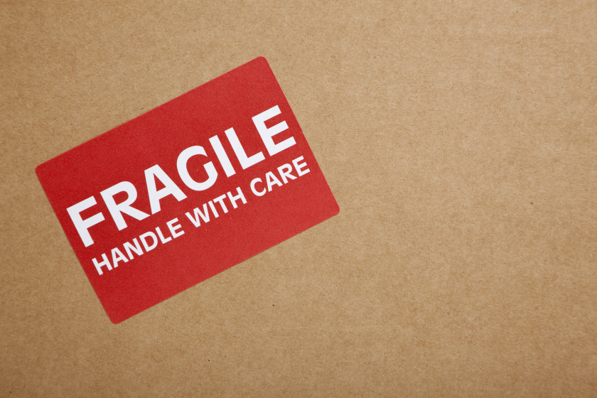 student air travel tips _ fragile