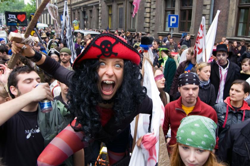 weirdest student societies: pirate society