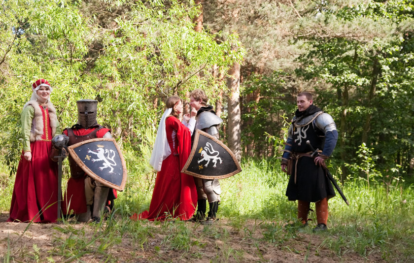 weirdest student societies: medieval roleplaying