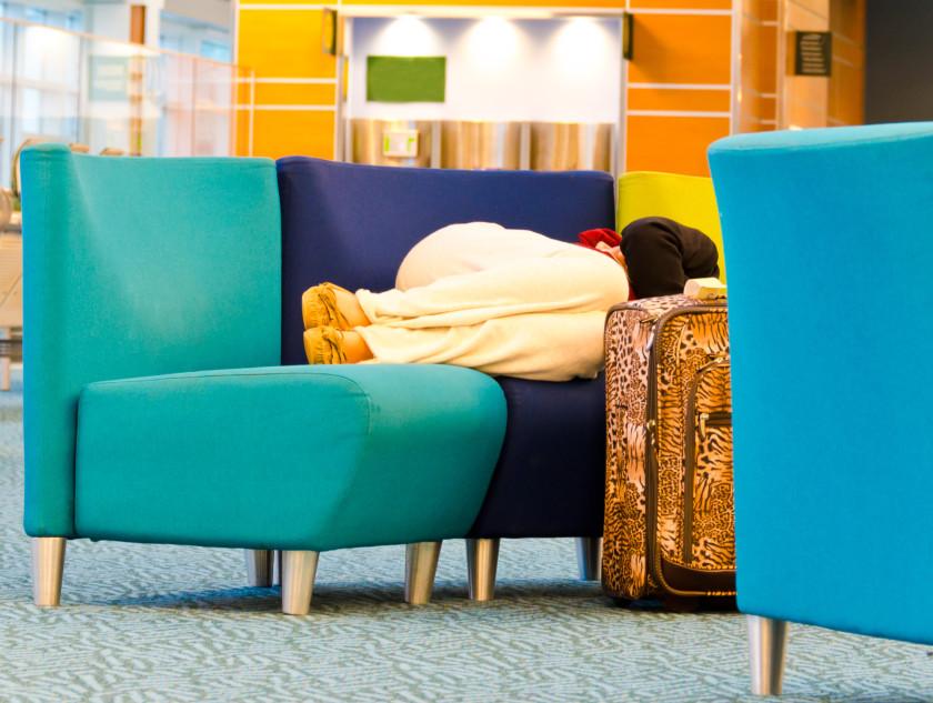 student air travel tips _ sleeping