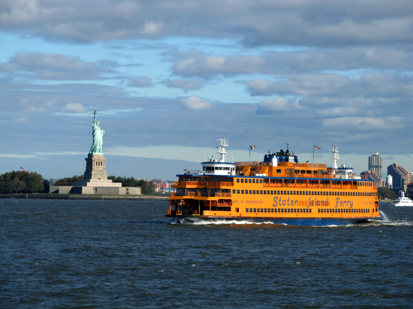 28 New York City Student Life Hacks_Staten Island Ferry