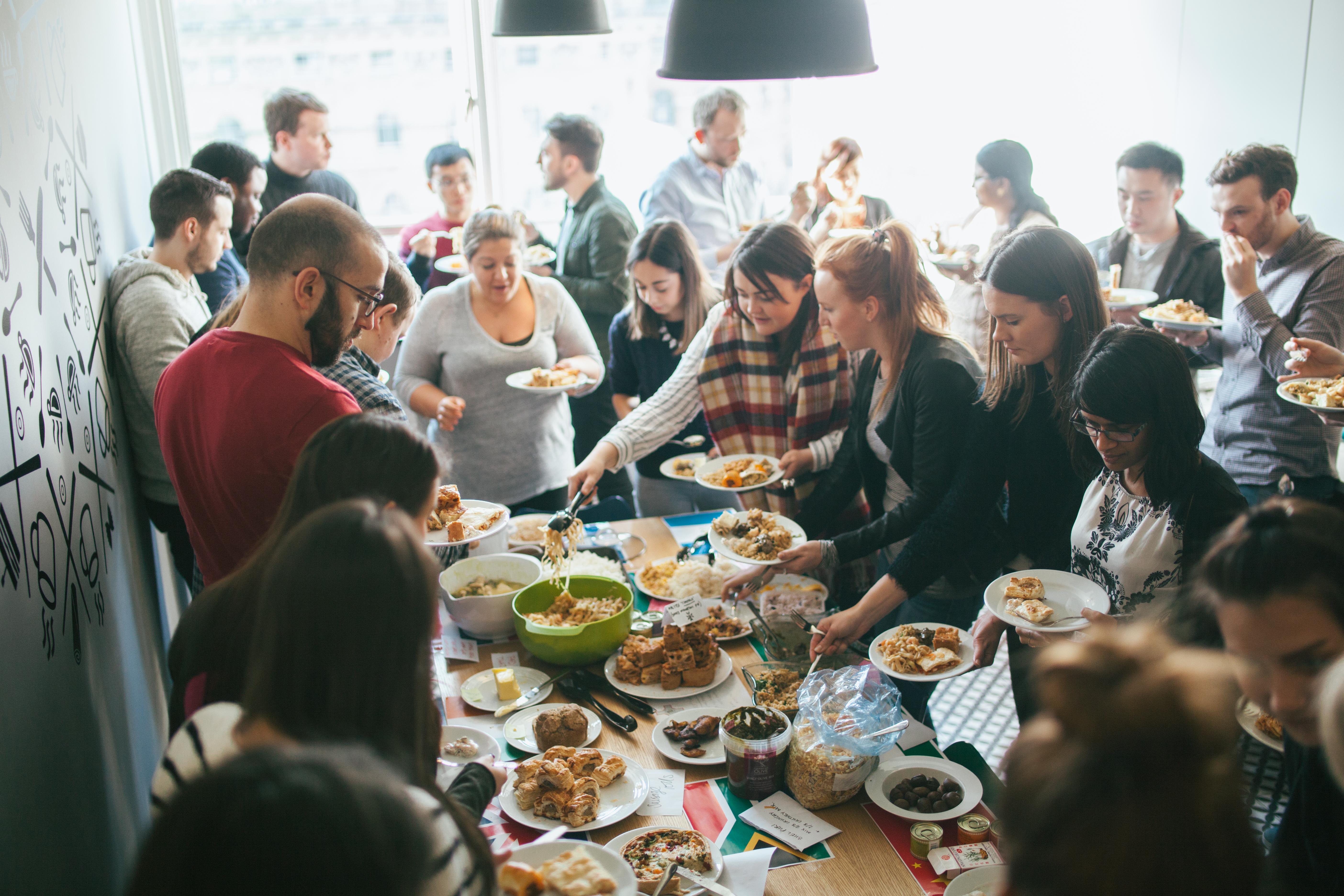 Design International Food Tasting Ideas