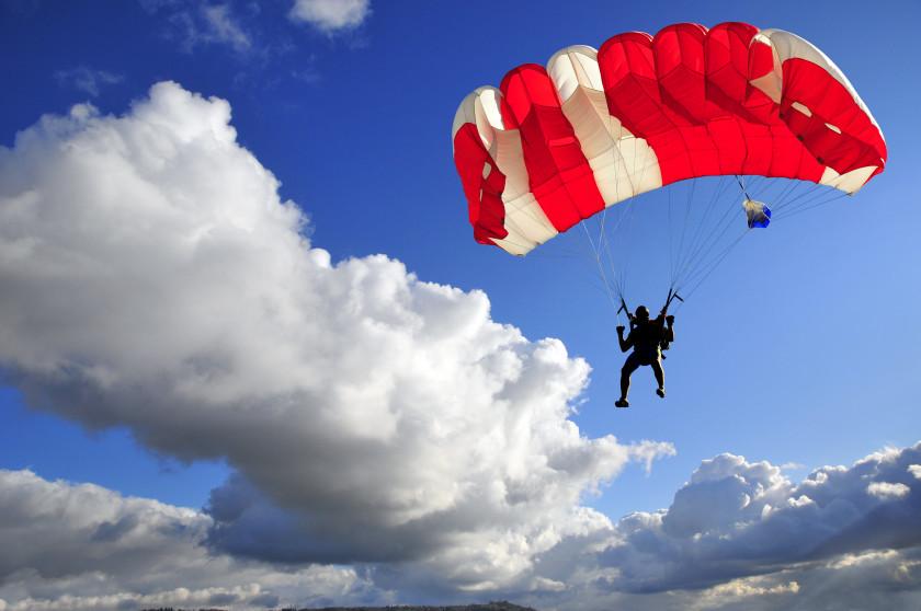student travel london underground: parachute