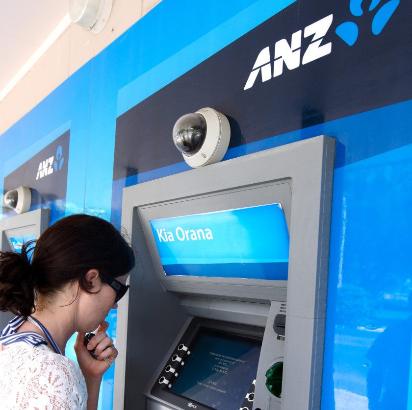 student bank account new zealand students- ATM