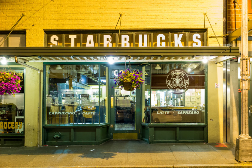 student cities in the us: starbucks