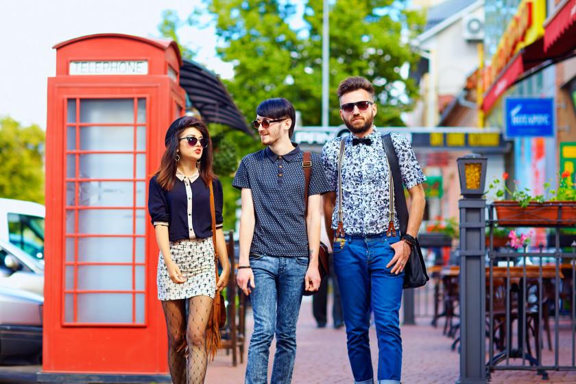 student travel london underground: walking