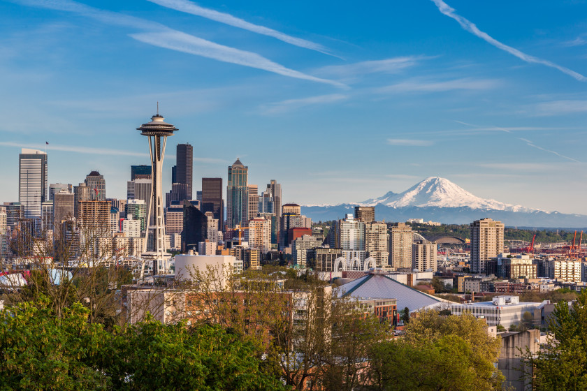 student cities in the us: seattle