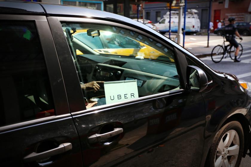 student travel london underground: uber