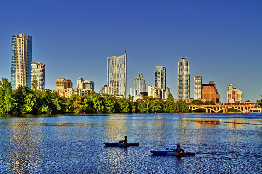 student cities in the US: austin
