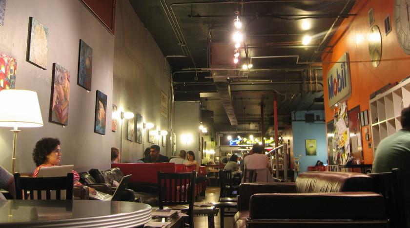 boston cafes: Diesel Cafe