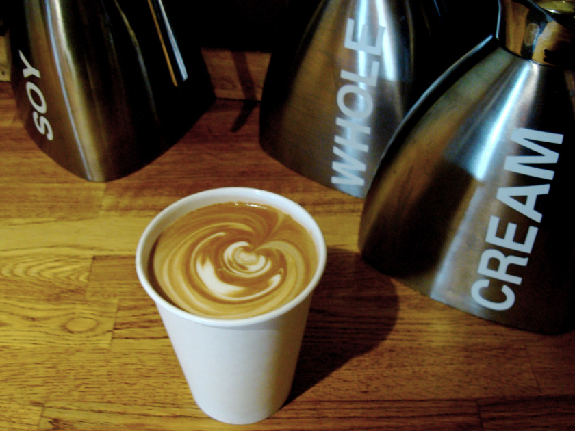 boston cafes: thinking cup