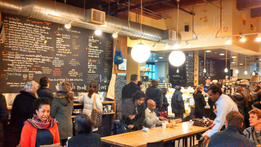 boston cafes: flour bakery