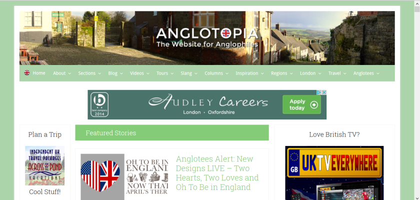 websites for uk study: anglotopia