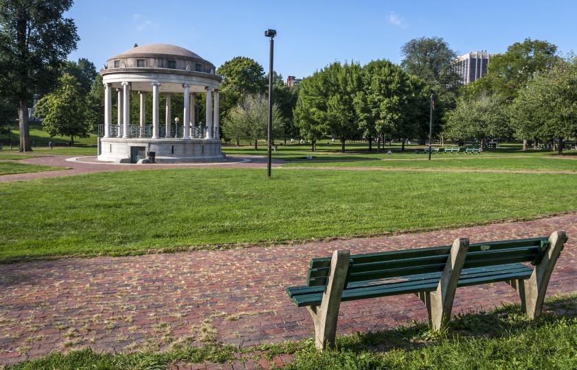 boston student study spots: boston common
