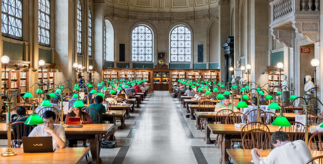 Best Study Spots For Students In Boston