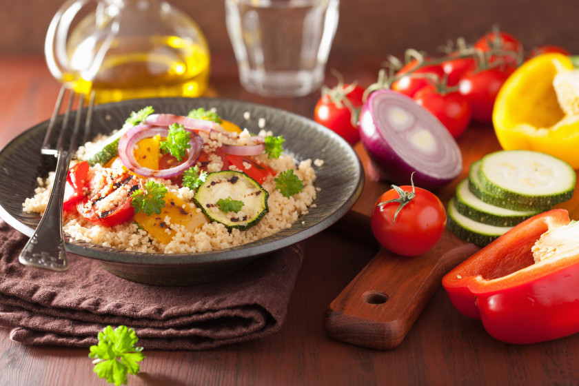 easy meals for students: cous cous