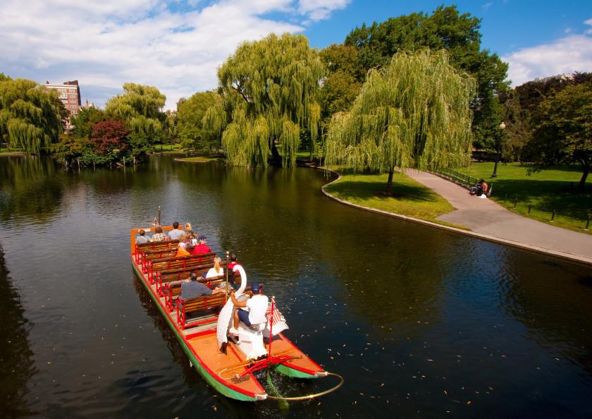 study spots for students: boston public garden
