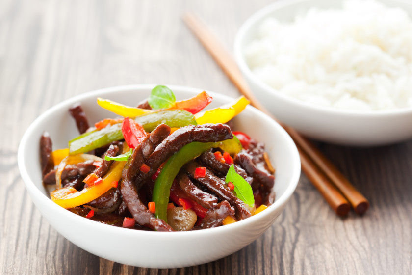 easy student meals: beef stir fry