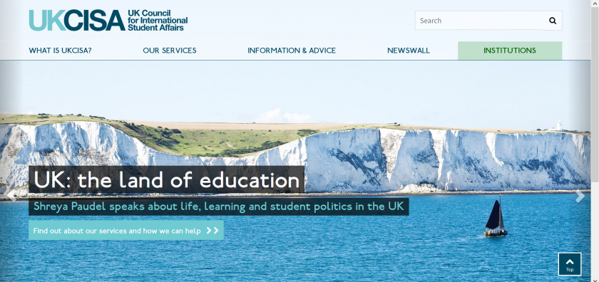 websites for uk study: ukcisa