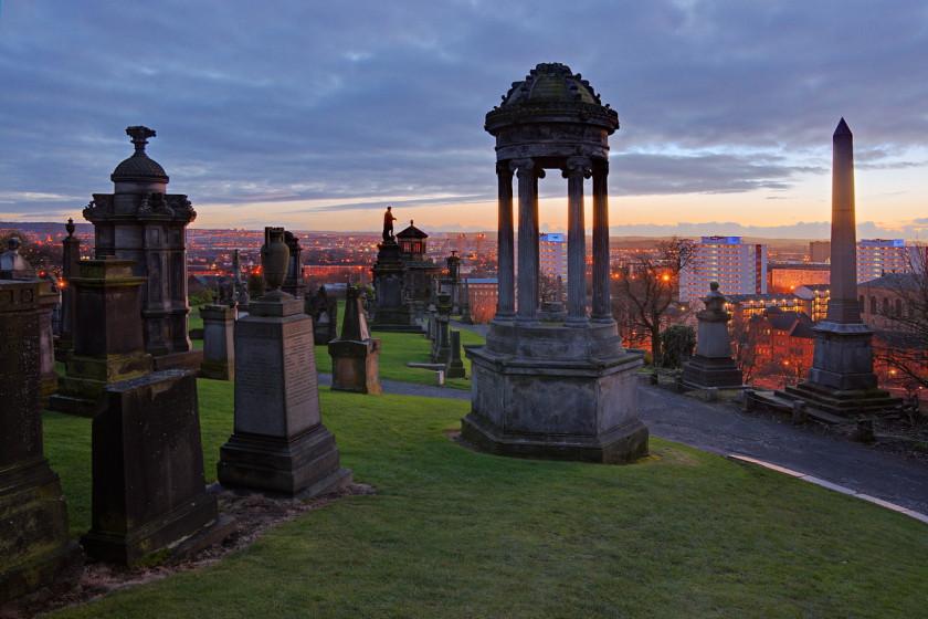 glasgow: cemetery
