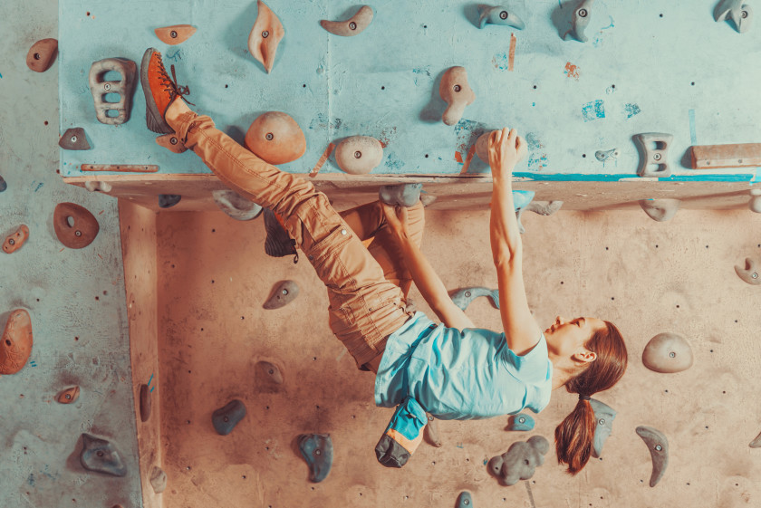 Student Guide To Entertainment In Boston_Bouldering
