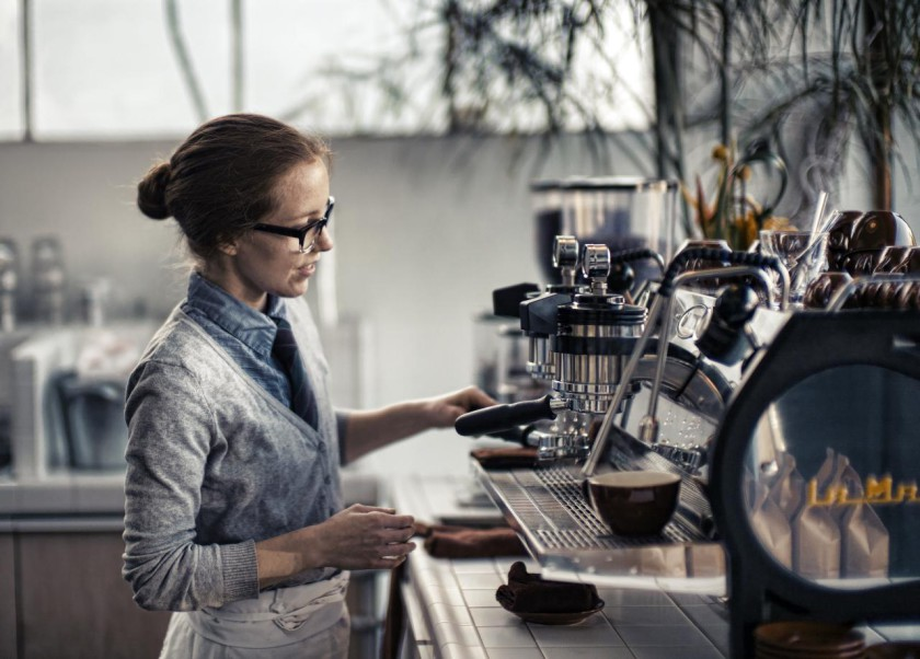 Studying In The UK- Barista