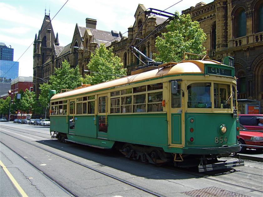 transport in australia: trams