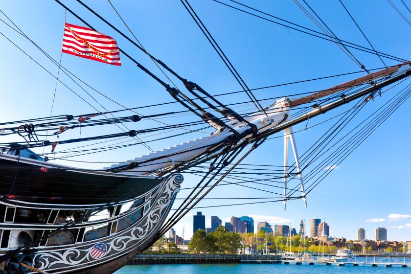 boston student discounts: uss constitution