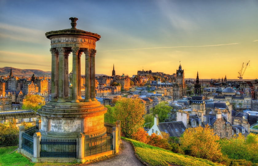 Magical European Cities Edinburgh