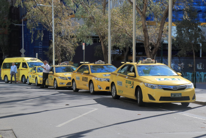 transport in australia: taxi