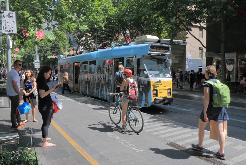 transport australia: cycling